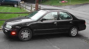Nissan Altima Black Interior 1996 Nissan Altima Gxe For Sale