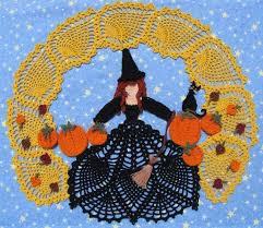 crochet halloween doilies crochet pattern free crochet