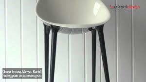 stoel super impossible van kartell ontworpen door philippe starck