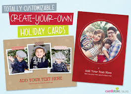 make a totally customizable u0027create your own u0027 holiday photo card