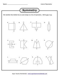 lines of symmetry worksheets worksheets