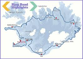 trip map an epic iceland road trip travel itinerary and tips