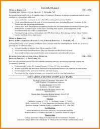 Curriculum Vitae Medical Doctor 9 Cv Examples Medical Mail Clerked