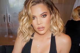 khloé kardashian debuts short lob khloé kardashian debuts new bronde hair lookbook