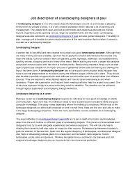 Landscaping Job Description For Resume by Job Description Of A Landscaping Designers St Paul 1 638 Jpg Cb U003d1371872256