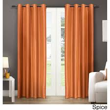 Orange Panel Curtains 164 Best Window Treatments Images On Pinterest Curtain Panels