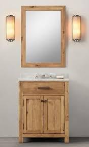 Hardwood Bathroom Vanities Wnut01 27 Wooden Bathroom Vanity In Light Walnut Color From Walnut