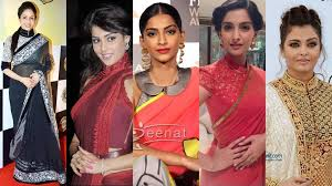 blouse band 10 ways in which divas gave saree blouse a makeover