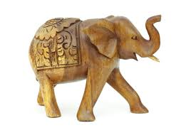 carved elephant figurine