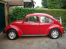 volkswagen old beetle fully restored 1971 classic vw beetle 1300 rutland red custom