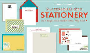 personalized stationary ready set personalize stationery in a snap paper source