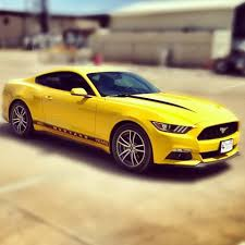 Yellow Mustang With Black Stripes David Or Crystal Bigwormgraphix Instagram Photos And Videos