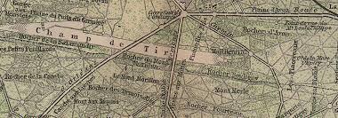 Fontainebleau Floor Plan For T De Fontainebleau U0026 Town Plan Topo Map Seine Et Marne Carte