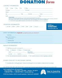 generic donation form 6 free donation form templates excel pdf