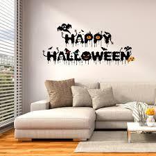 Halloween Home Decor Wholesale by Creative Diy Halloween Decoration Black Blessed Happy Halloween