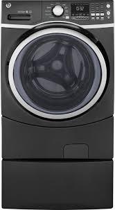 Front Loader Pedestal Ge Gfw450spkdg 27 Inch Front Load Washer With Steam Option