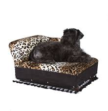 Dog Chaise Fantasy Furniture Cleopatra Chaise Leopard Print Petco