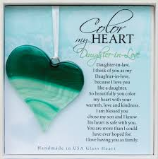 I Love My Son Poems And Quotes by Daughter In Love Gift Handmade Glass Heart U2026 Quotes Pinterest