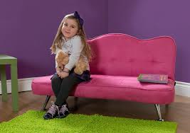 Pink Armchairs For Sale Amazon Com Dhp Rose Sofa Kid Lounger In Microfiber Upholstery