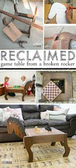 reclaimed wood game table reclaimed game table from rocking chair chess game tables