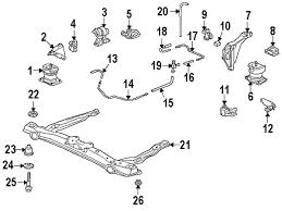 2000 honda accord lx parts parts com honda engine transaxle engine and trans mounting