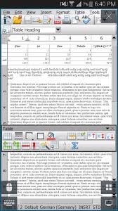 openoffice for android andropen office apk for android