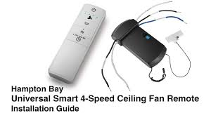 wink compatible ceiling fan how to install the universal wink ceiling fan remote control youtube