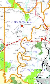 Parish Map Of Louisiana by Catahoula Parish Center For Louisiana Studies