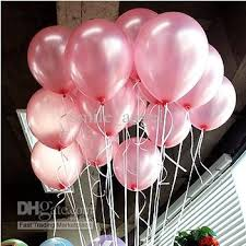 wedding decorations 10inch pink color thickened balloons