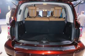 nissan micra luggage space 2017 nissan armada first look review motor trend