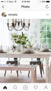 Easter Decorations Country Style by White Easter Table Setting Via Zevyjoy Home Tabletops