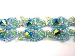 beaded butterfly bracelet images Beadwork butterfly bracelet jewellery making kit with swarovski jpg
