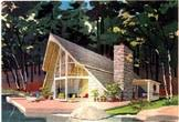 a frame house plans and a frame style home designs at