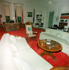 oval office redecoration st c416 6 63 redecorated oval office with president john f