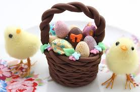 Easter Decorations Uk by Easter Basket Cake Decorations Goodtoknow