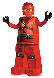Boys Lego Halloween Costume Prestige Ninjago Kai Boys Costume