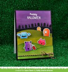 monster mash halloween monster mash lawn fawn