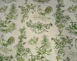toile fabric etsy
