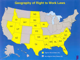 World Of Work Map by Indiana G O P To Seek Law Limiting Unions The New York Times