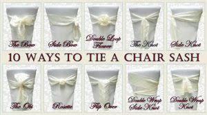 chair sash ties chair sash for wedding mrsapo