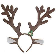 christmas headbands pangda 2 pieces brown reindeer headband antlers