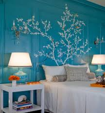 tree mural for wall home design