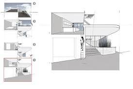 modern split level house plans split level house in philadelphia pennsylvania by qb3 design home
