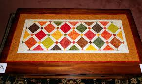Fall Table Runners by Quilting Affection Designs Autumn Table Runner Island Batiks