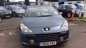 peugeot 2006 suv 2006 peugeot 307 cc 1 6 s at www gullwingcarsales co uk youtube