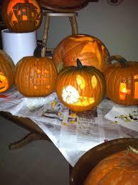 halloween decorations for pumpkins decoration ideas fair picture of decorative scary monster pumpkin