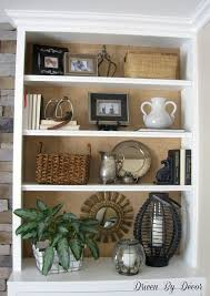 Styling Bookcases Diy Project Burlap Backed Bookcases Driven By Decor