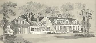 house plans new england vintage house plans new england gambrel roof homes posted