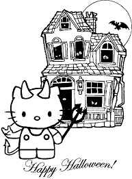 hello kitty coloring pages to print halloween coloring book 1731