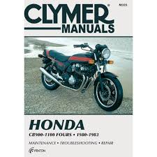 amazon com clymer honda in line fours cb900 1100 manual m325